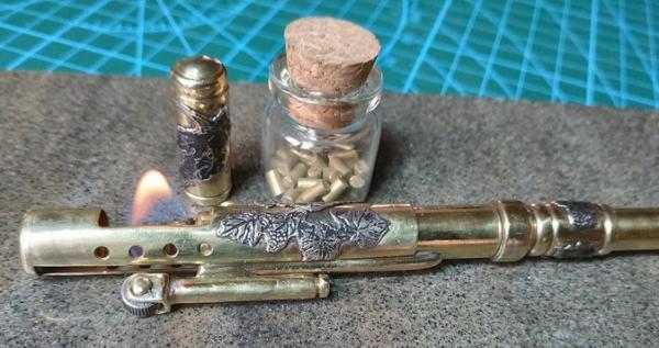 Ручка-зажигалка