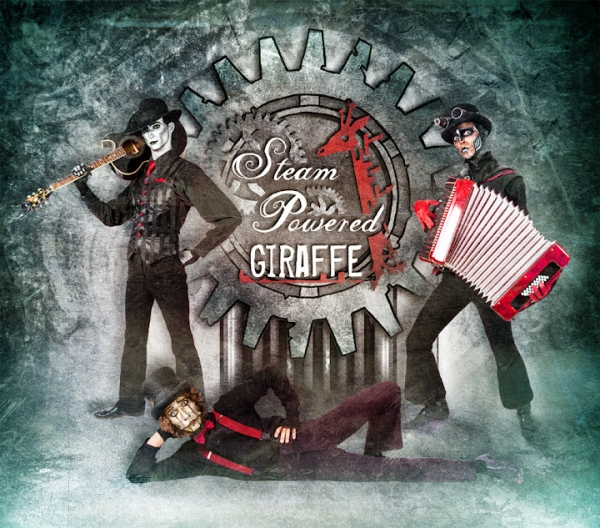 Steam Powered Giraffe или заводные роботы из Сан-Диего