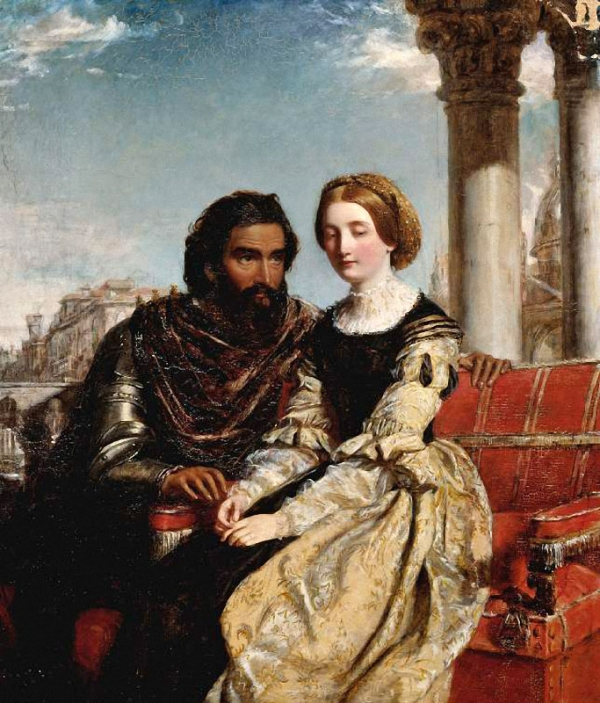 Othello and Desdomona (1856)