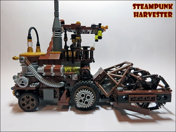 SteamPunk Harvester из LEGO (Фото 16)