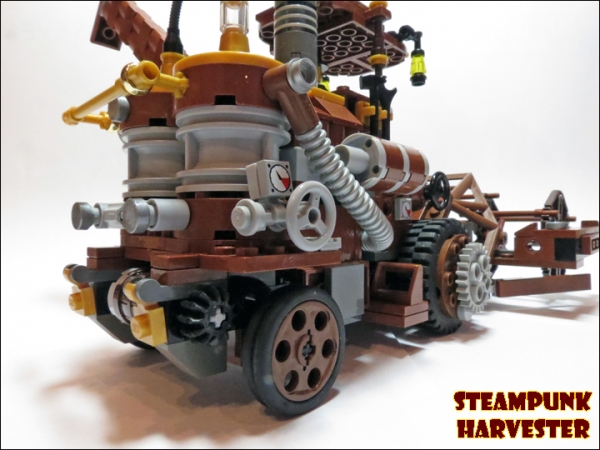 SteamPunk Harvester из LEGO (Фото 12)