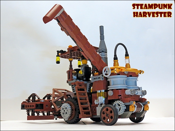 SteamPunk Harvester из LEGO (Фото 4)