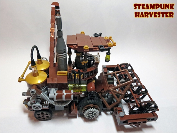 SteamPunk Harvester из LEGO (Фото 8)