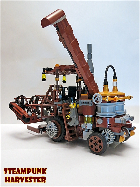 SteamPunk Harvester из LEGO (Фото 11)
