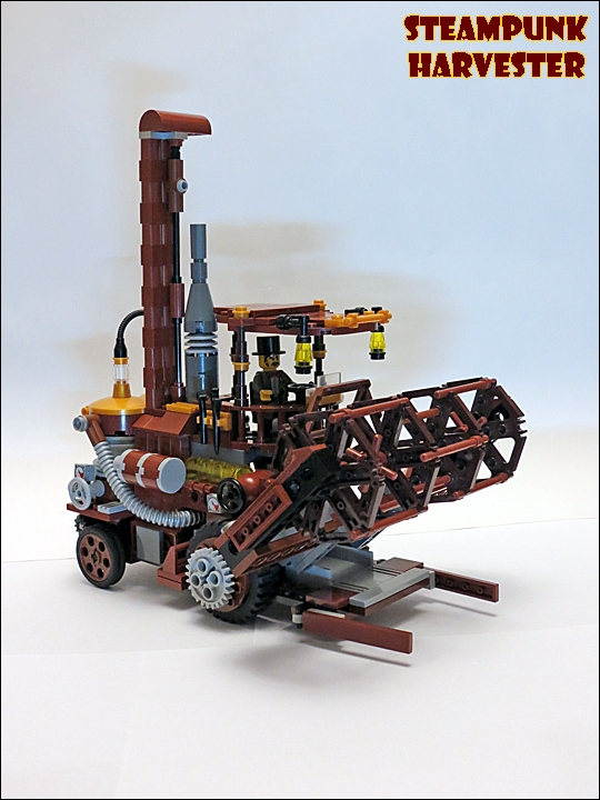 SteamPunk Harvester из LEGO (Фото 7)