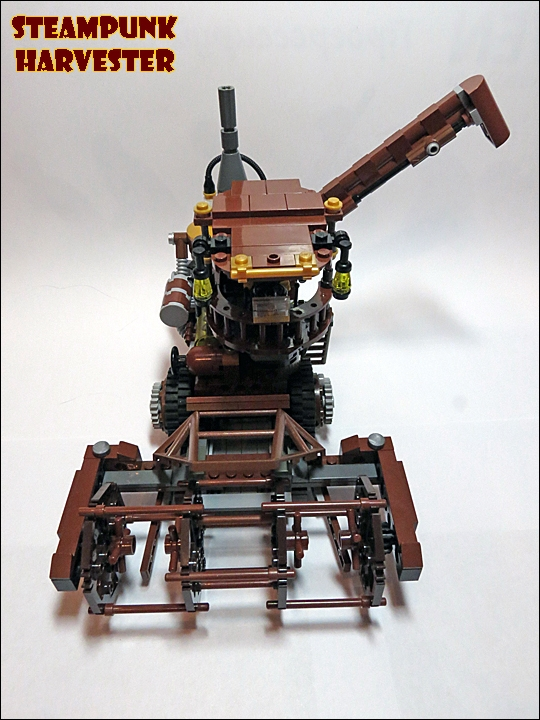 SteamPunk Harvester из LEGO (Фото 10)