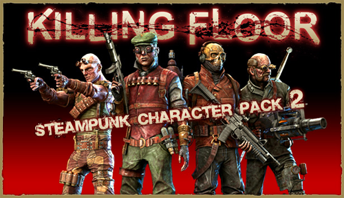 Killing Floor - Steampunk Characters