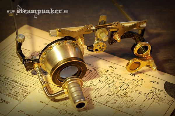 steampunk goggles - mad scientist