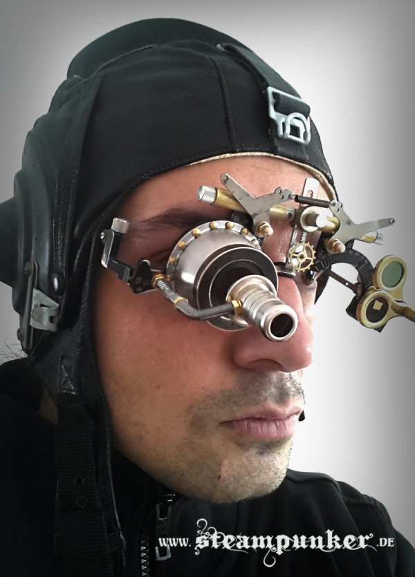 steampunk goggles - mad scientist (Фото 2)