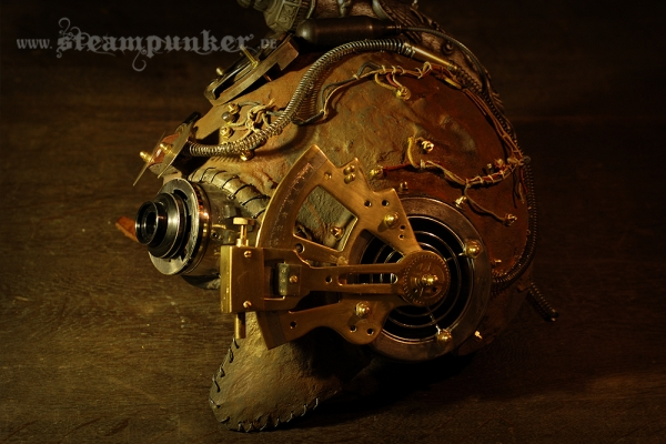 steampunk helmet, mask - steamborg
