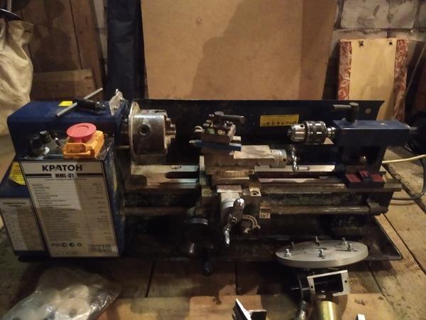 Продам токарно винторезный станок Кратон MML-001