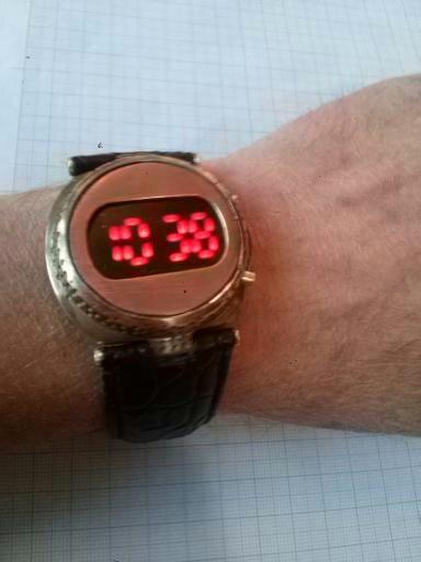 Часы #4,светодиодные.