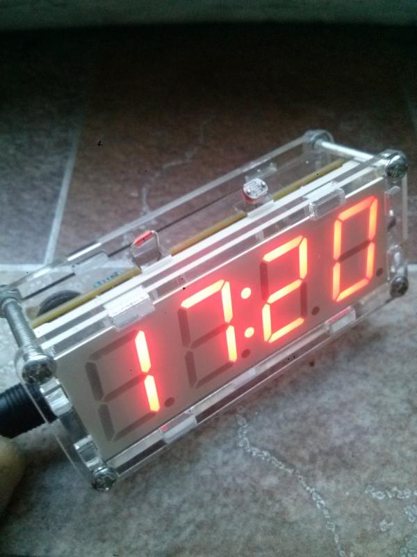 Часы Счётчик на утиных лапах.