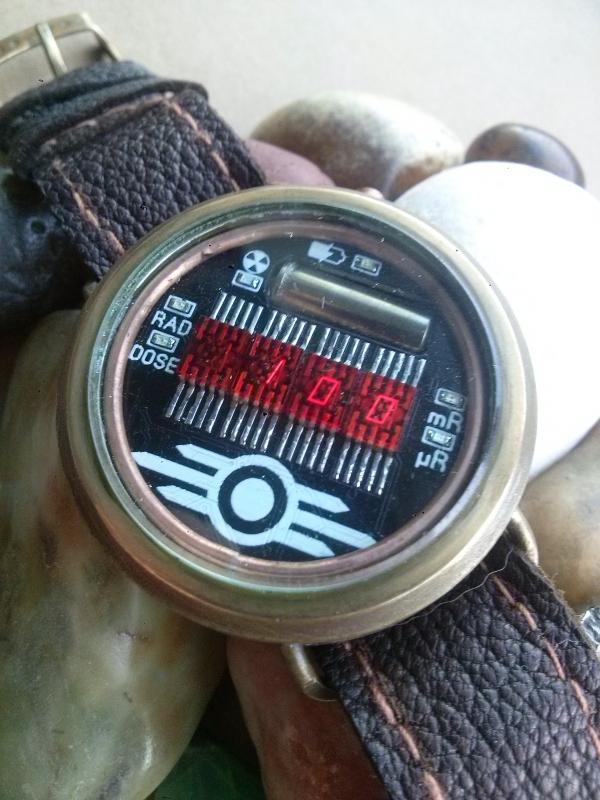 Часы #7 (дозиметр-радиометр).