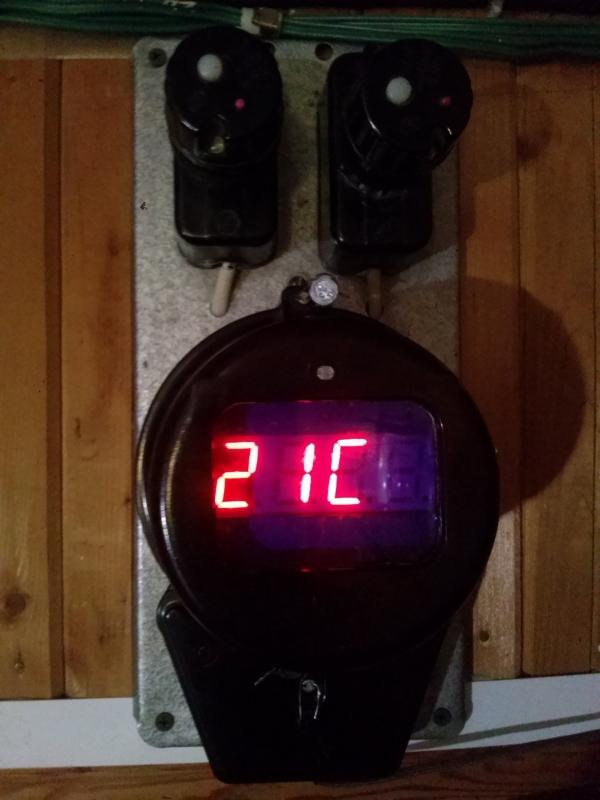 Электросчётчик-часы #2.