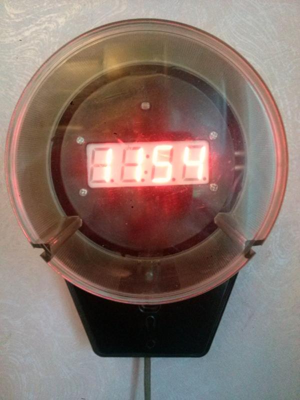 Электросчётчик-часы #3.