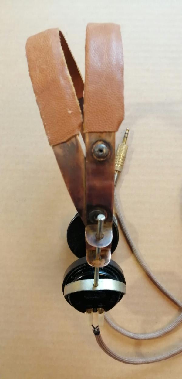 Восстановление (реставрация) винтажных наушников ТОН-2