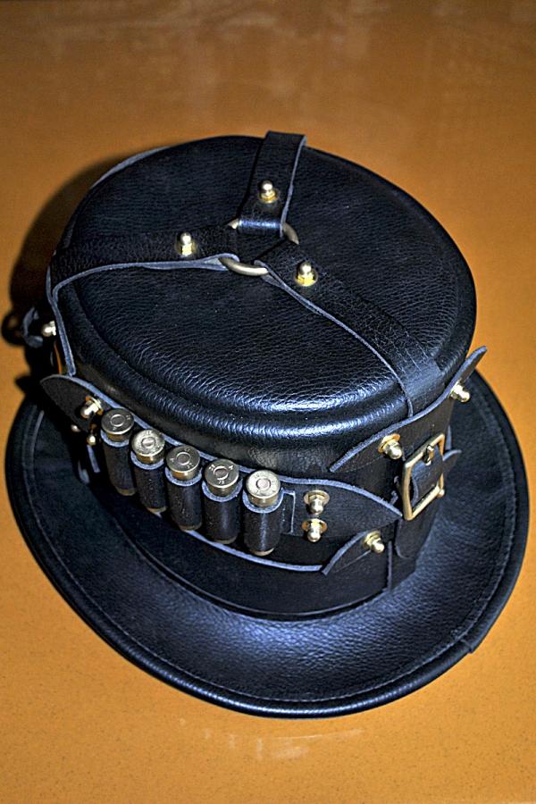 Шляпа в стиле стимпанк