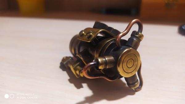 Зажигалка двигатель с турбиной
