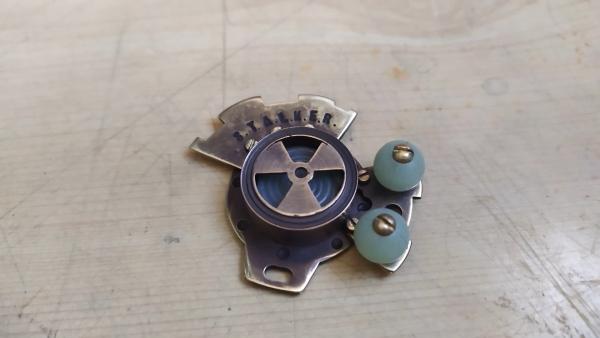Стимпанк медальон S.T.A.L.K.E.R. своими руками