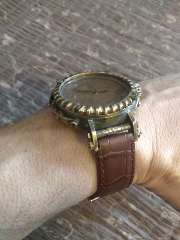 Мои первые часы.