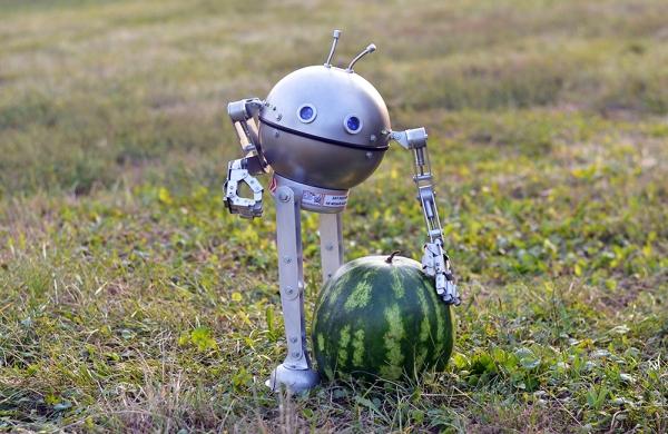Робот Круглик - мехмодель.