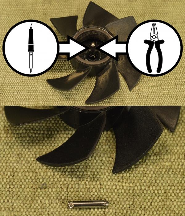 Воздушное охлаждение для точильного станка. (Часть 2)
