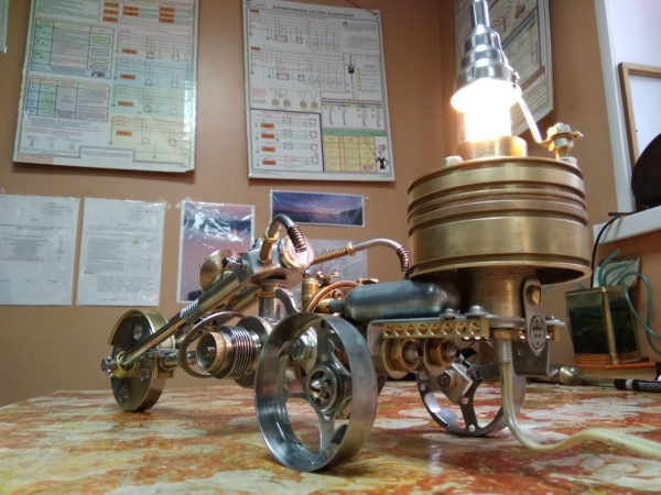 Стимпанк-трицикл ( (Steampunk tricycle)