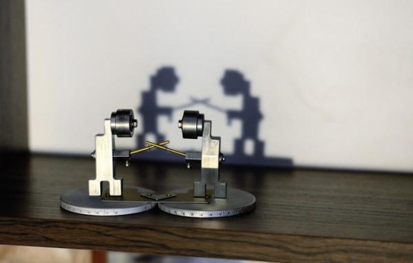 Арт-миниатюры Дуэль и Дочка выросла.