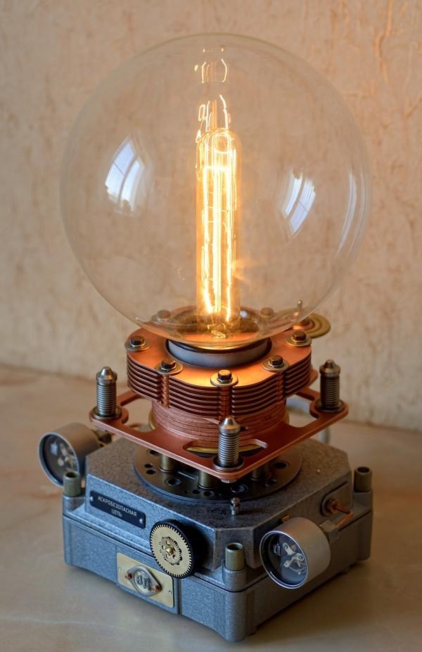 Светильник в стиле Steampunk...