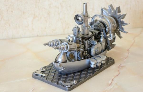 Советский стальной стимпанк. Сторожевой пограничный корабль класса Ставрида.