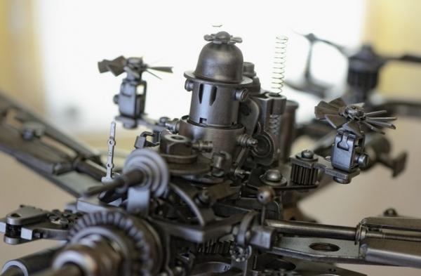 Советский стальной стимпанк. Диверсионно-разведывательный аппарат класса Москит.