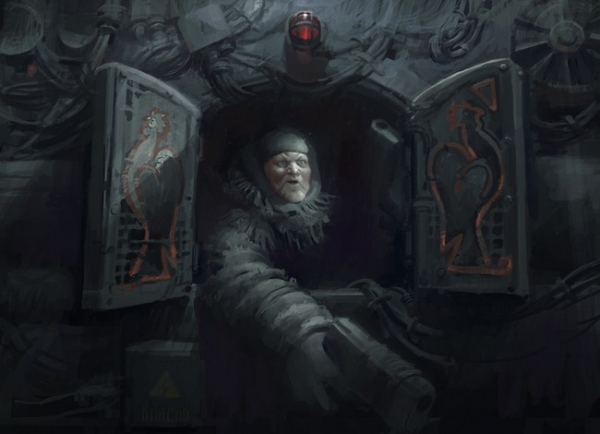 Достучаться до СОБЕС.  Художник Эдуард Набиуллин.