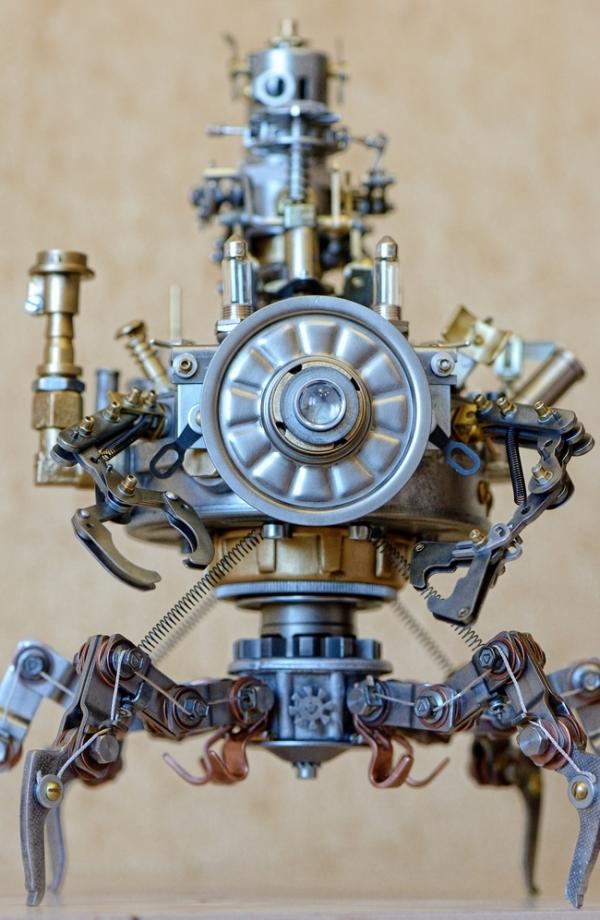 Советский стальной стимпанк. Диверсионно-курьерский разведывательный аппарат класса Крабоход.