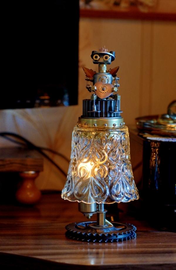 Светильник-ночник Держащий сердце...