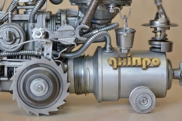 Советский стальной стимпанк. Роботизированный мини-комбайн Дніпро...