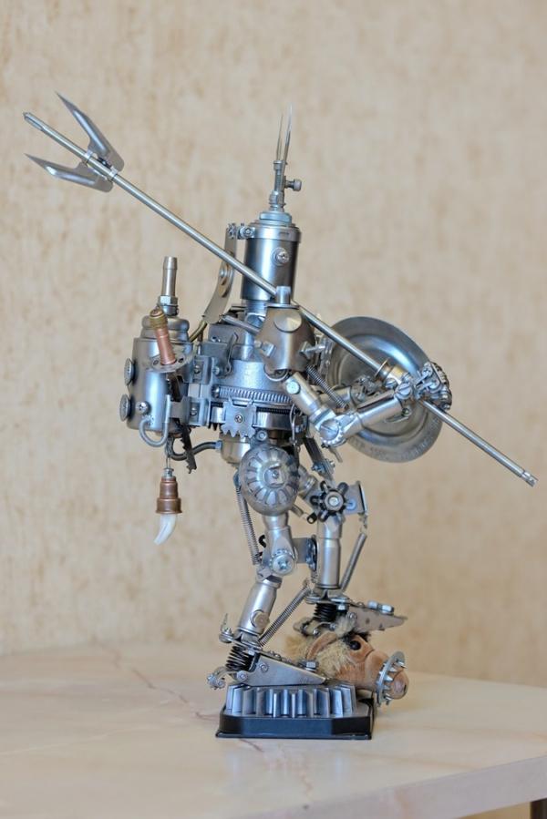 Железный самурай. Последний охотник за инопланетянами...