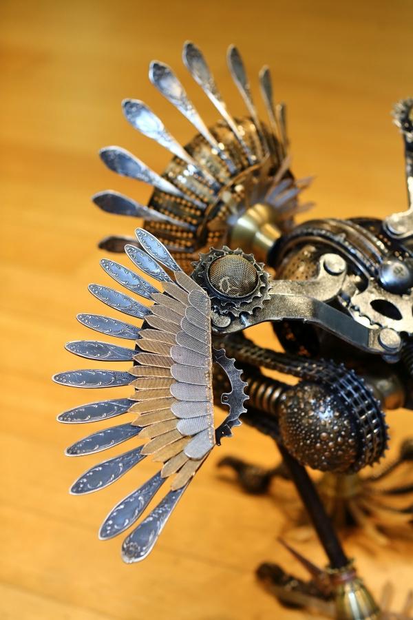Птица механическая новая