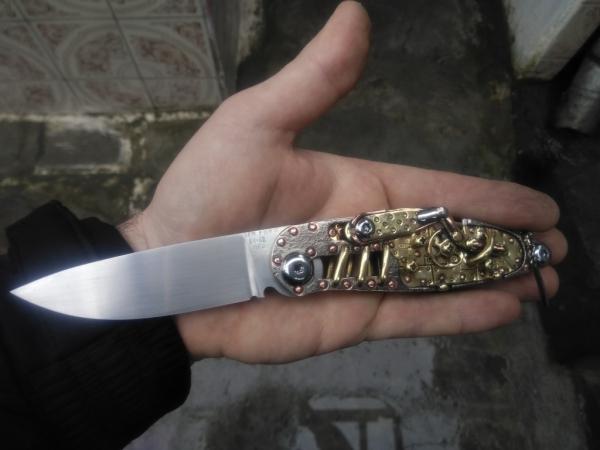 Складной нож Скальп4 (Кузнечик).