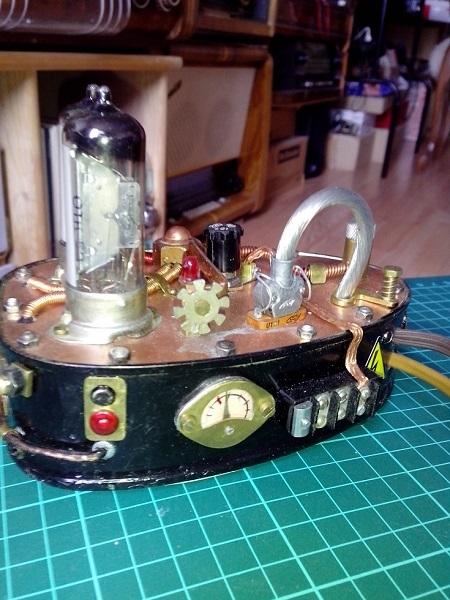 Показометр на лампах