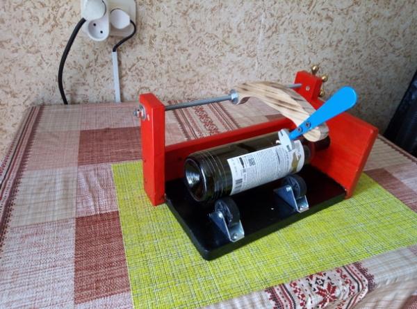 Еще раз о резке бутылок...