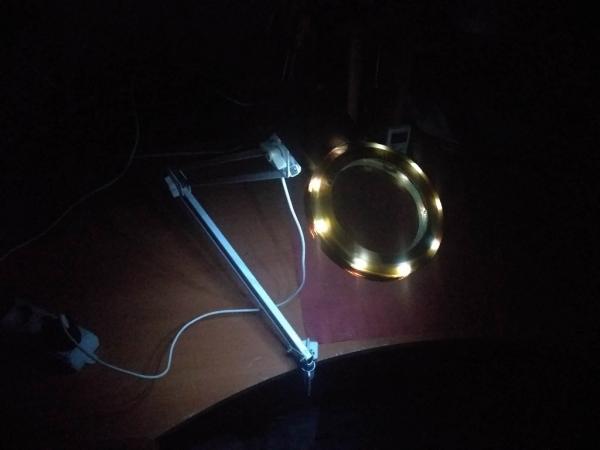 Лупа с подсветкой