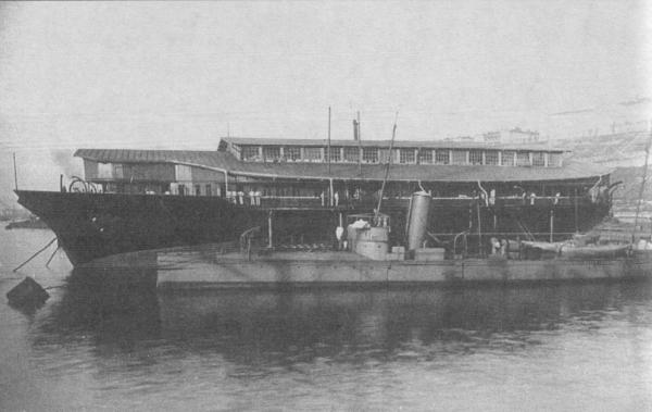 Круглая яхта Ливадия