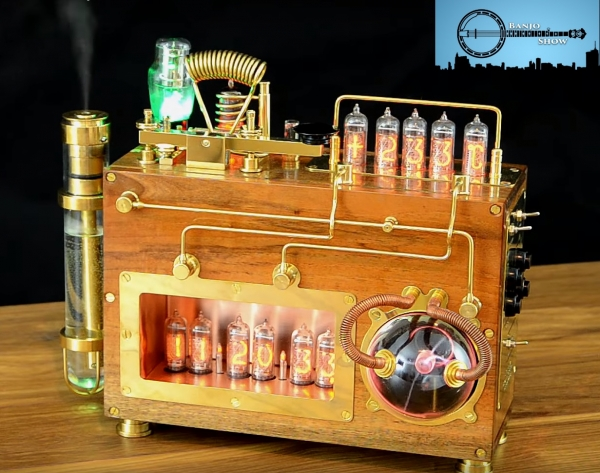 Nixie-clock с плазмо/паро/морзегенератором