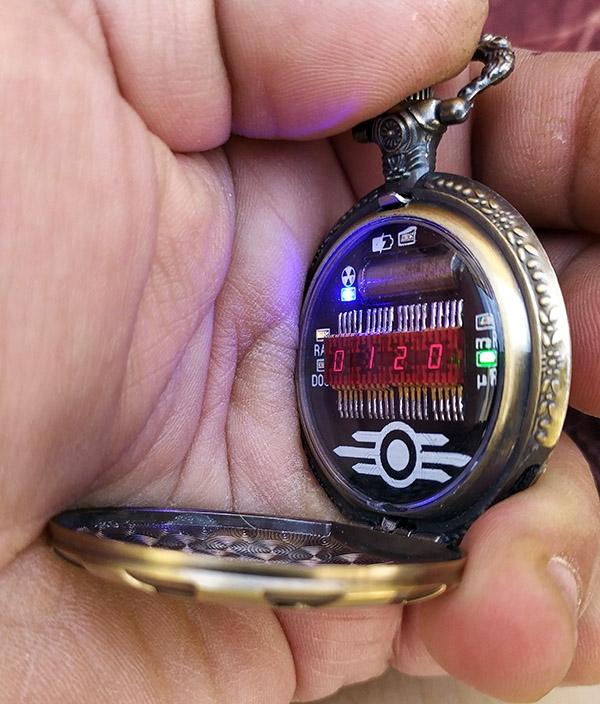 Классические карманные часы. Эксперимент.