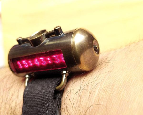 Наручные часы Матрица времени