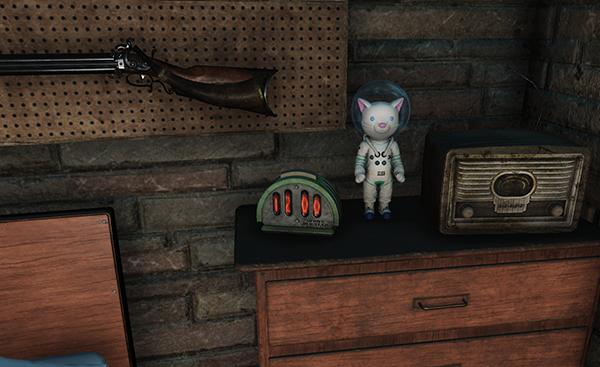 Настольные часы по мотивам Fallout 76