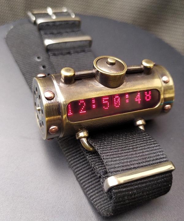 Наручные часы Матрица времени версия 2