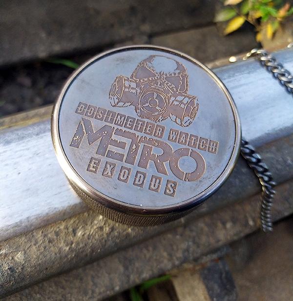 Еще одни METRO Exodus карманные с дозиметром