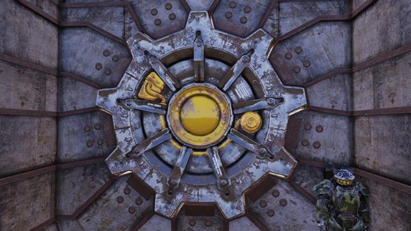 Часы-дозиметр на матричном LED индикаторе в духе Fallout